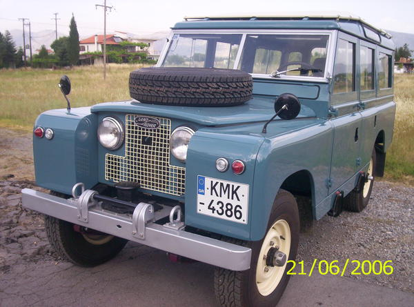 Land Rover Marin >> 1963 Land Rover Series Iia Eooe7938 Registry The Landy