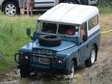 1980 Land Rover Series III MARINE BLUE Terry Gogerty