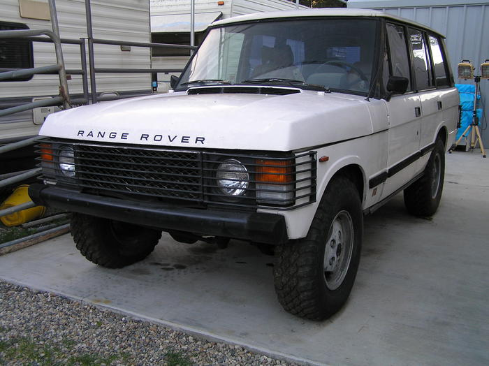 Registry 1982 Land Rover 90
