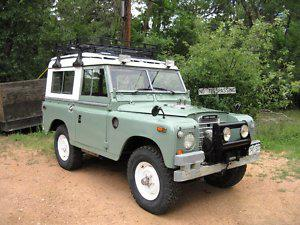 Used Land Rovers For Sale >> 1974 Land Rover Series III (XOXOXOXO) : Registry : The