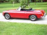 1973 MG MGB Flame Red Wray Lemke